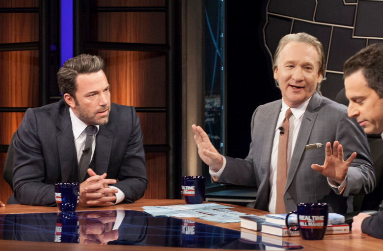 Ben Affleck and Bill Maher, Sam Harris