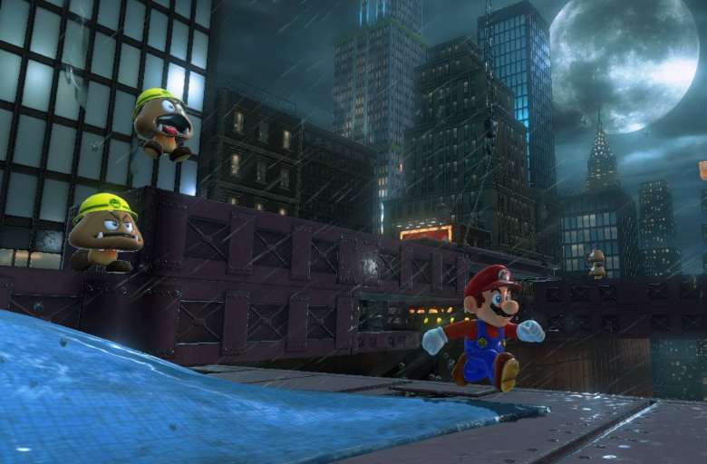 Nintendo Switch, Mario Odyssey