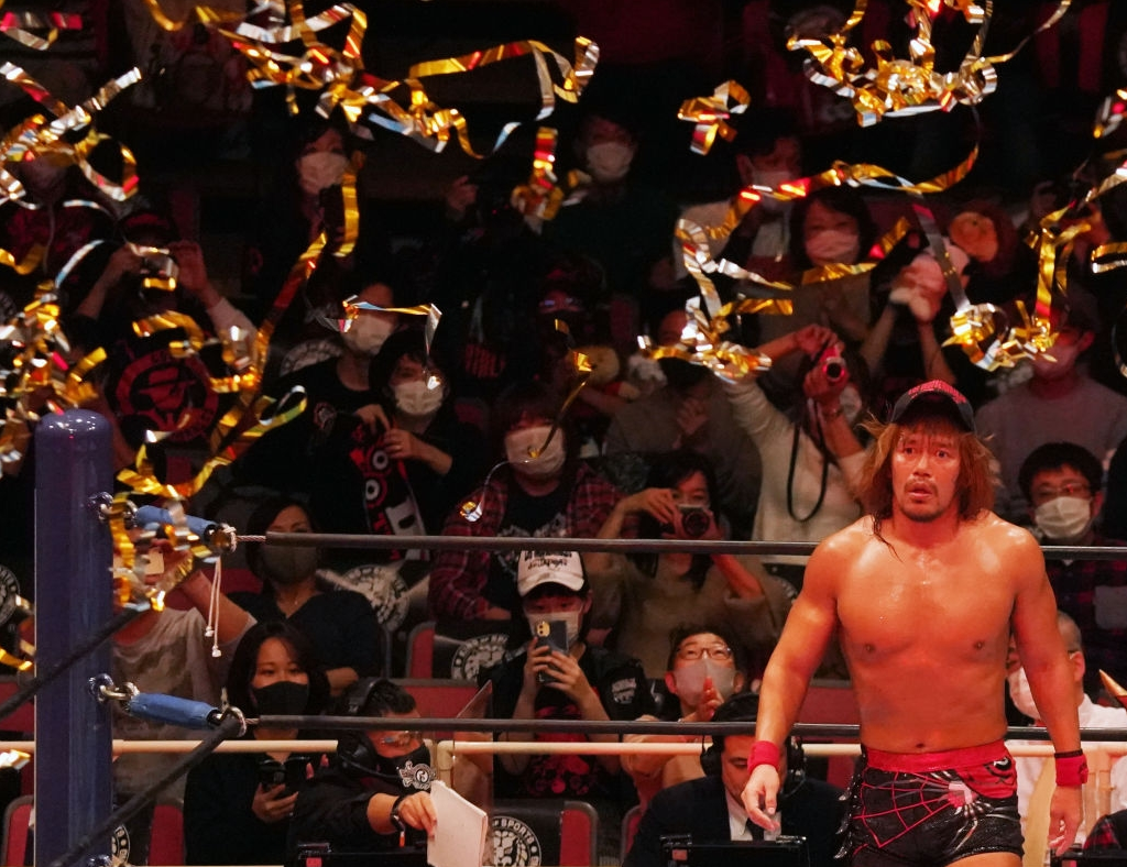 Wrestling crowds are not the same during a pandemic. Shut up about it.